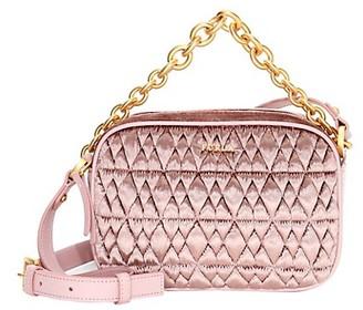 Furla Cometa Mini Quilted Crossbody Bag