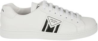 Prada Linea Rossa Side Logo Lace-up Sneakers