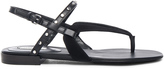 Balenciaga Studded Suede Sandals