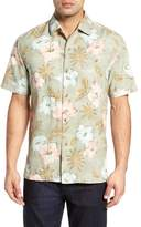 Tommy Bahama Hibiscus in the Mist Silk Blend Camp Shirt