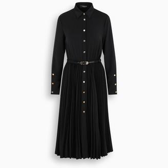 Versace Pleated shirt style dress