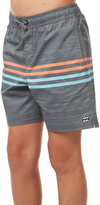 Billabong Kids Boys Spinner Laybacks 15 Boardshort Black