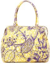 Vivienne Westwood Violet Yellow Shoulder Bag
