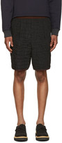 Kolor Black Contrast Waistband Shorts