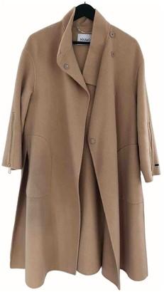 Max & Co. Beige Wool Coat for Women