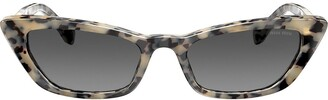 Miu Miu Cat Eye Style Sunglasses