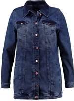 Zizzi Denim jacket dark blue