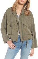 Splendid Women's Wilder Tencel Crop Utility Jacket