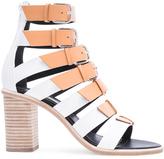 Balenciaga Leather Buckle Heels