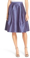 Adrianna Papell Women's Pleated Shantung Skirt