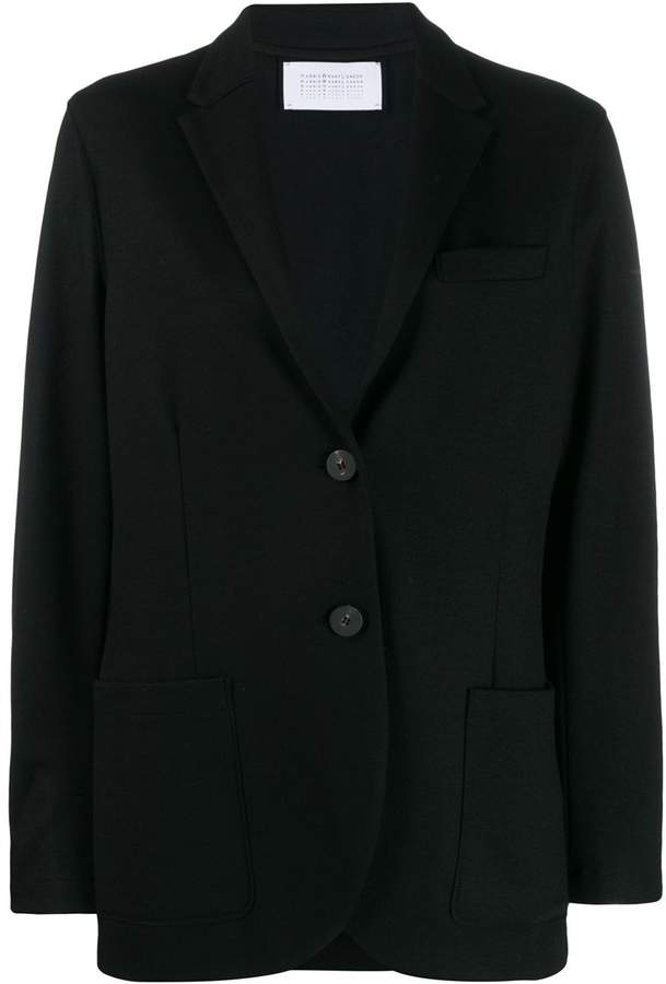 Harris Wharf London long sleeve knitted blazer