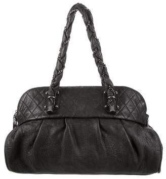 Chanel Lady Braid Large Bowler Bag