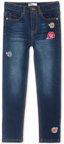 Epic Threads Epic Thread Floral Embroidered Jeans, Toddler & Little Girls (2T-6X), Created for Macy's