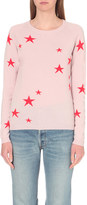 Chinti and Parker Star-motif cashmere jumper
