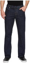 Nbz(R) NBZ(r) Elastic Waist Straight Leg Jean in Electric Blue (Electric Blue) Men's Jeans