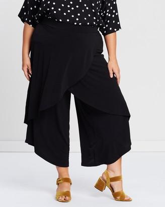 Advocado Plus Overlap Pull-On Pants