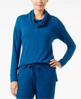 Alfani Brushed Cowl-Neck Pajama Top, Created for Macy's