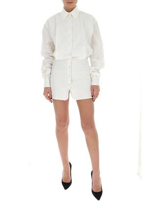ATTICO Button Down Shirt Dress