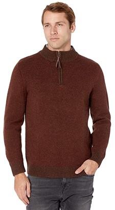 Pendleton Zip Shetland (Oxblood) Men's Clothing