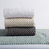 Coyuchi Pebbled Chenille Organic Cotton Bath Rug