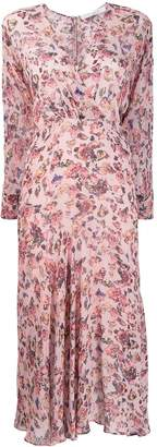 IRO Temper floral print dress