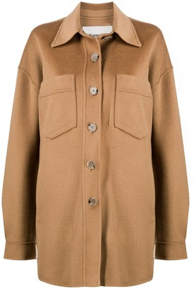 Nanushka Martin button down coat