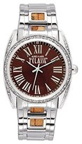 Alviero Martini Prima Classe Women's PCD 946S/UM Round Stainless Steel Brown Dial Crystal Watch