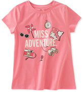 Kate Spade Miss Adventure Stretch Jersey Tee, Pink, Size 2-6