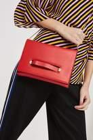 Brogan tab chain clutch bag