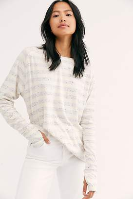 We The Free Arden Stripe Tee at Free People