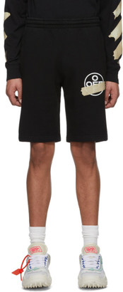 Off-White Black Tape Arrows Sweat Shorts