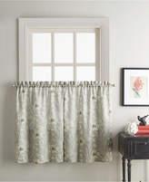 "CHF Sketch Floral 58"" x 36"" Window Tier Bedding"