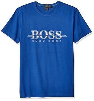 HUGO BOSS BOSS Green Men's Tee Short Sleeve Crewneck T-Shirt