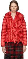 Simone Rocha Moncler Genius 4 Moncler Red Down Darcy Jacket