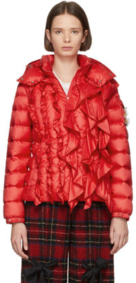 MONCLER GENIUS 4 Moncler Simone Rocha Red Down Darcy Jacket