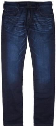 True Religion Rocco indigo slim-leg jeans