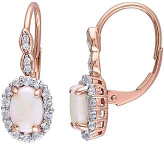 Rina Limor Fine Jewelry 14K Rose Gold 1.78 Ct. Tw. Diamond & Gemstone Earrings