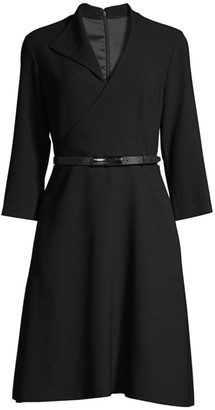 Elie Tahari Elodie Belted Dress