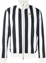 Kappa striped funnel neck jacket - men - Polyester - S