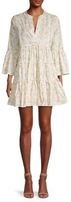 Caroline Constas Lyssa Floral-Print Mini Dress