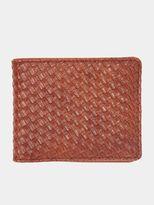 Burton Burton Tan Weave Wallet