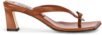 Reike Nen Flip-Flop Heels in Brown   FWRD