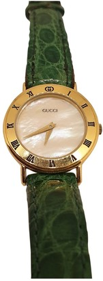 Gucci Diamantissima Green Steel Watches