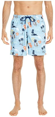 Tommy Bahama Naples Sunset Hula Swim Trunks (Buccaneer Blue) Men's Swimwear