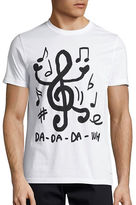 Ps By Paul Smith Music Note Crew Neck T-Shirt