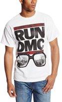 Bravado Men's Run Dmc Glasses Cityscape T-Shirt