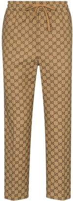 Gucci GG canvas trousers