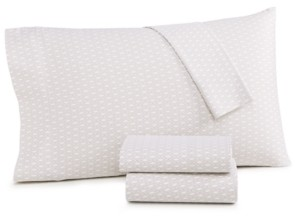 Charter Club Closeout! Damask Designs Diamond Geo Cotton 550-Thread Count 4-Pc. King Sheet Set, Created for Macy's Bedding