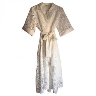 Maje Spring Summer 2019 White Lace Dresses