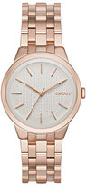 DKNY Park Ladies' Rose Gold Tone Bracelet Watch